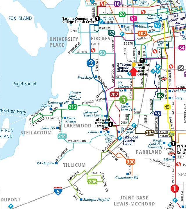 Tacoma-Bus-Routes - 32 Pearls Dentistry Tacoma, WA